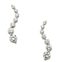 Diamond Journey Earring