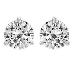 1/2 CT Diamond Stud Earrings